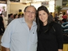 O leiloeiro Paulo Horto e a esposa, Sandra Horto