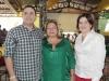 O médico cardiologista Resala Elias Jr, a esposa Mirtes, e a cunhada, Celeste Curado