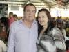 O pecuarista Benedito Leal e a esposa, Leomarcia Cabral